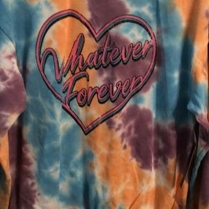 Tie dyed pullover Whatever Forever junior 11-13